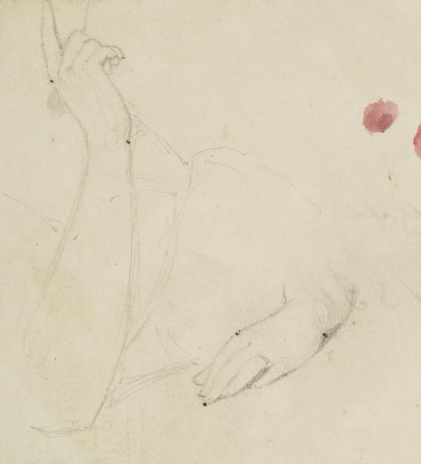 Study of Two Arms of an Unknown Lady (1807 - 1835)