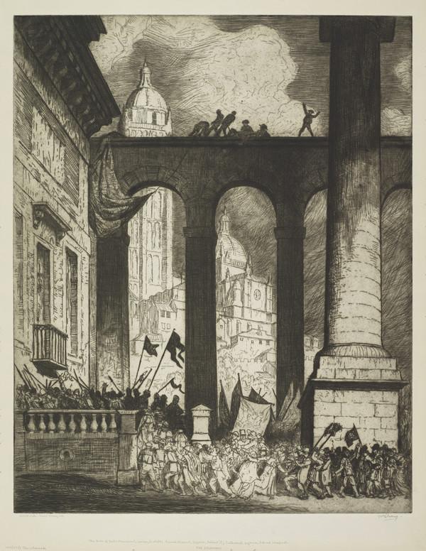 The Colonnade (Strang No. 700) (1914)