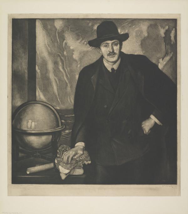 John Masefield, No. 3 (Strang No. 704) (1914 (begun 1909))