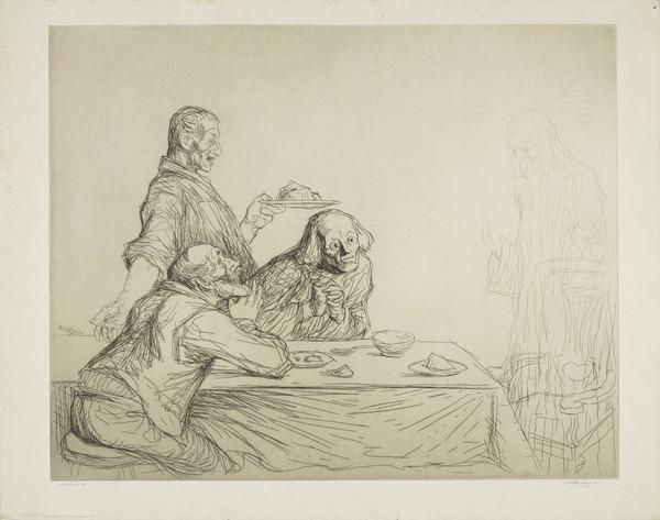 The Supper at Emmaus, No. 3 (Strang No. 699) (1914)