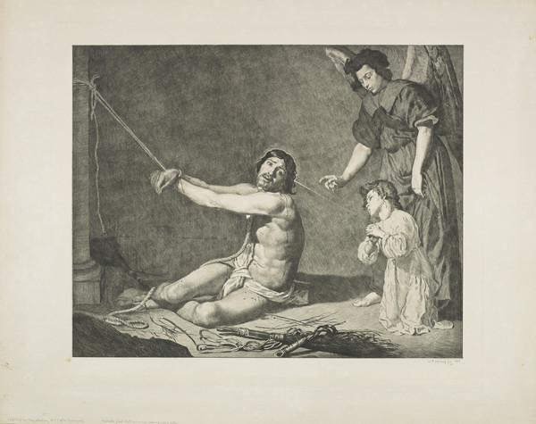 The Flagellation, No. 1 (Strang No. 138) (1887)