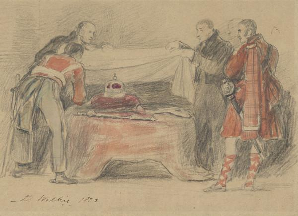 'The Honours of Scotland'. The discovery of the Scottish Regalia (1822)