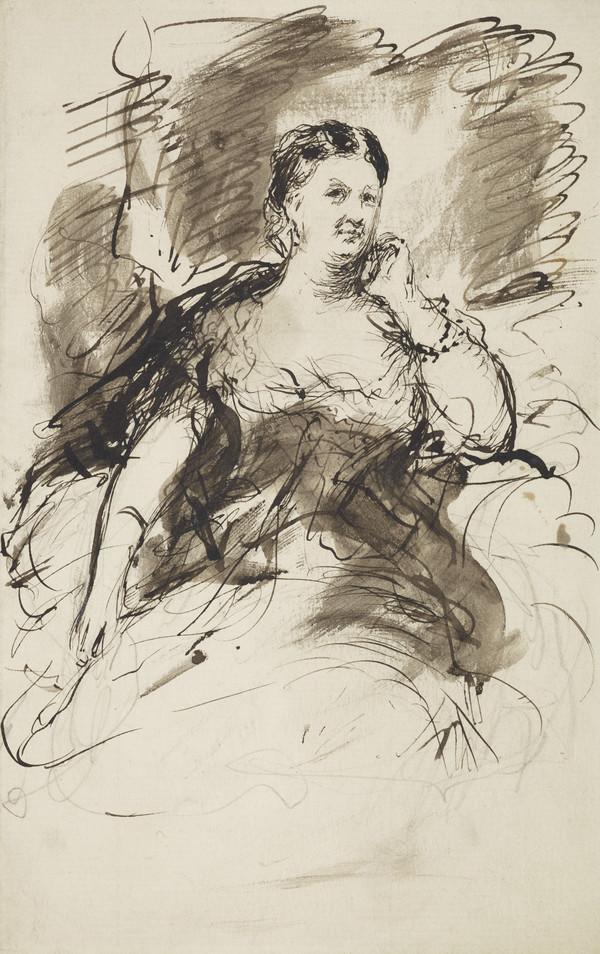 [Unidentified woman] (19th century)