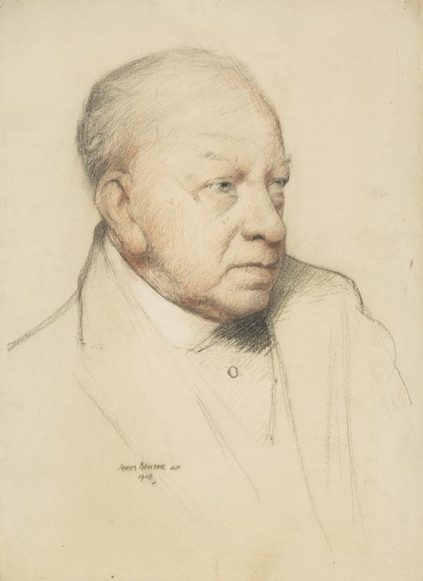 Dr John Smith, 1825 - 1910. Dental surgeon and founder of Edinburgh Dental Hospital (Dated 1908)