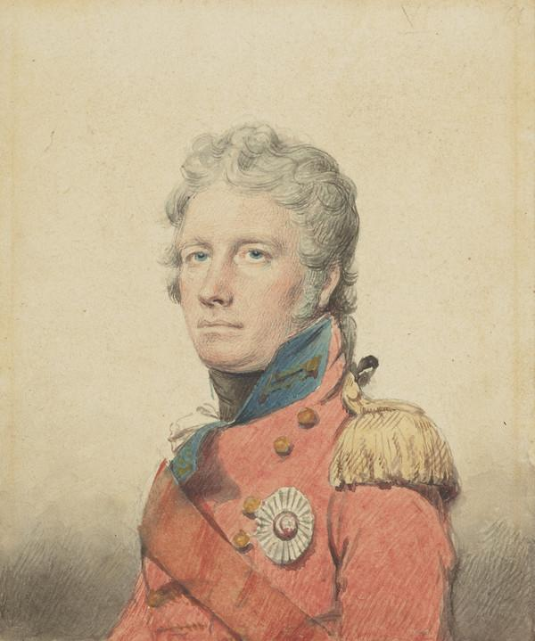 General Sir David Baird, 1757 - 1829. Soldier (1802)