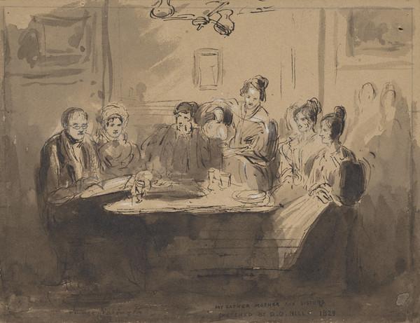 Alexander Nasmyth and his family (1829)