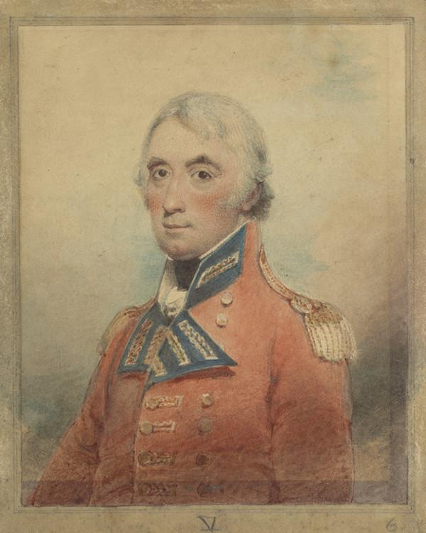 General Sir John Doyle, c 1750 - 1834. Soldier (Study related to The Battle of Alexandria and The Landing of British Troops at Aboukir)
