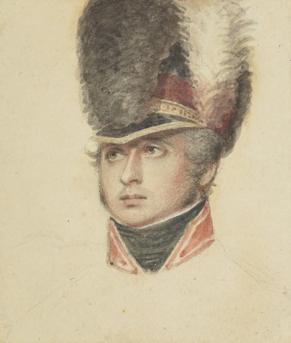 Infantry officer (unidentified) (Study for The Battle of Alexandria or The Landing of British Troops at Aboukir)