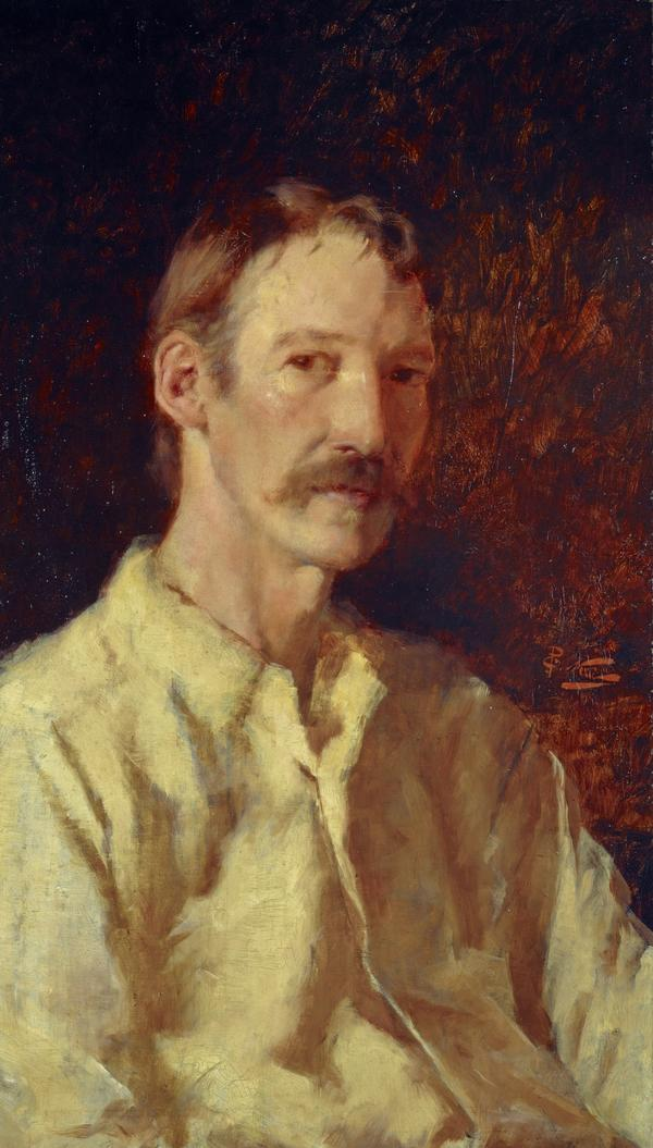 Robert Louis Stevenson, 1850 - 1894. Essayist, poet and novelist (1892)