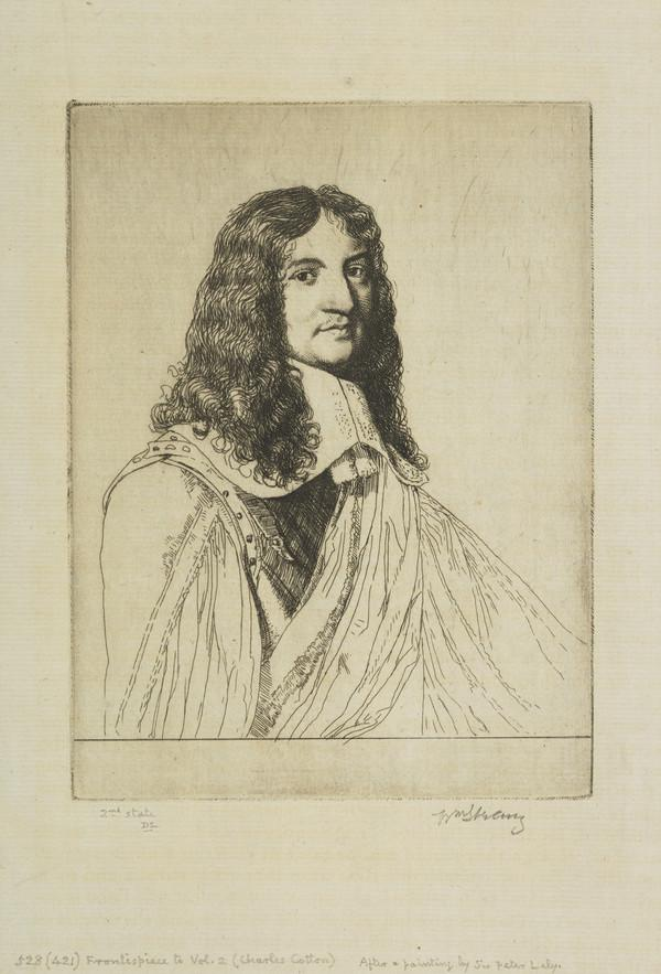 Frontispiece to Volume Two of 'The Compleat Angler' (Strang No. 528)