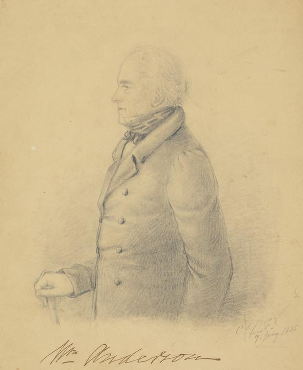 William Anderson, 1805 - 1866 (Dated 1845)
