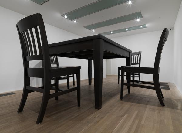 No Title (Table and Four Chairs) (2003)