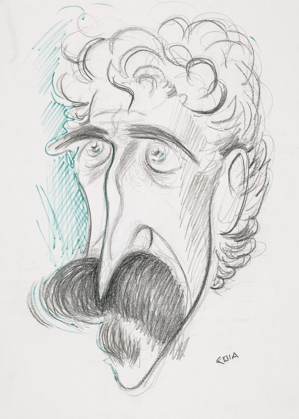 John Byrne, b. 1940. Artist, dramatist and stage designer (1990's)