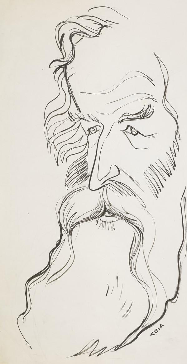 Alan Davie, b. 1920. Artist