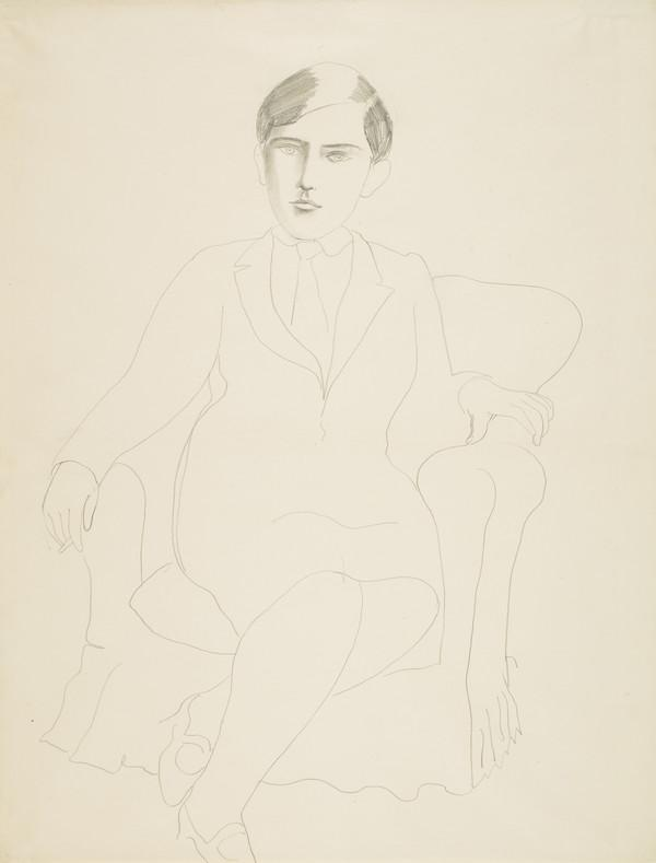 Portrait of Jeanne Bourgoint (About 1925 - 1926)