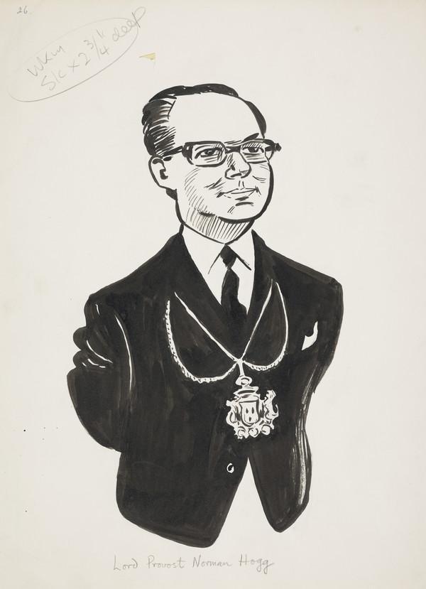 Norman Hogg, b. 1938. Lord Provost of Edinburgh