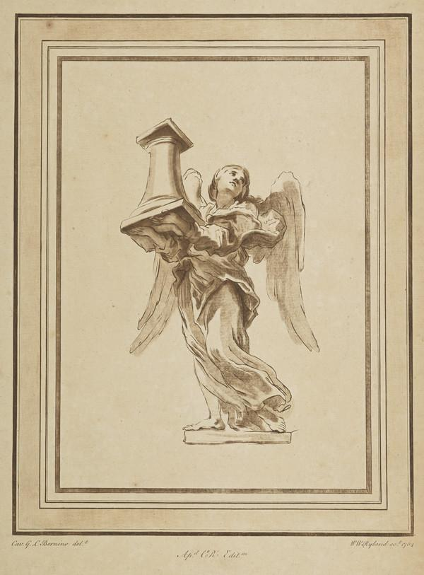 Angel with the column of the Flagellation (Dated 1764)