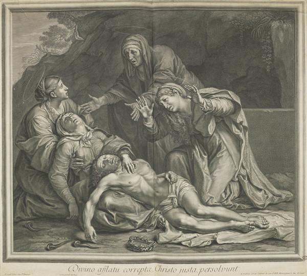 Pietà with the three Marys