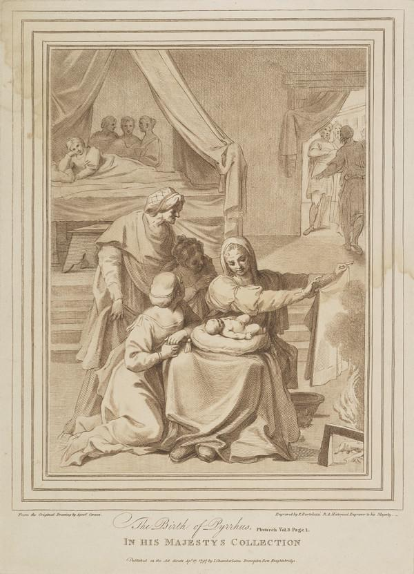 The Birth of Pyrrhus (Published 17th April 1797 (London))