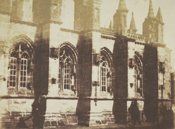Rosslyn Chapel , south side [Landscape 20] (1843 - 1847)