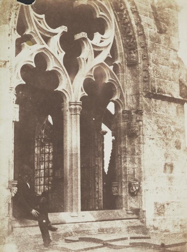 Rosslyn Chapel , upper storey [Landscape 23] (1843 - 1847)