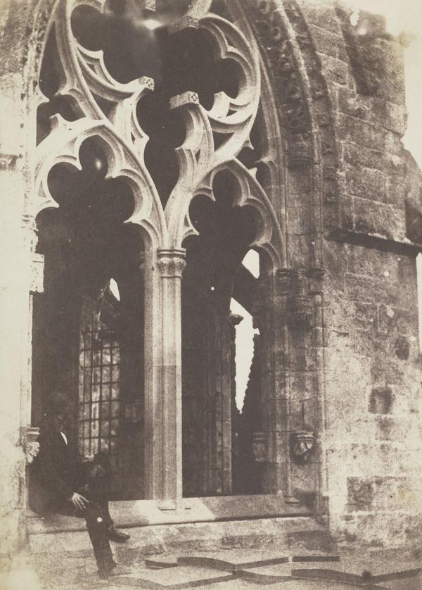 Rosslyn Chapel, upper storey [Landscape 23] (1843 - 1847)
