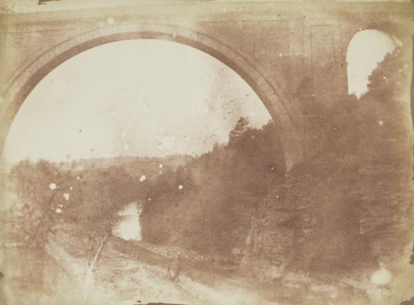 Ballochmyle Viaduct, central span  and side arch [Landscape 29] (1843 - 1847)