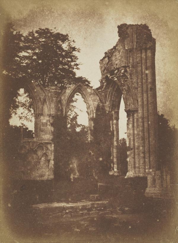 St Marys Abbey, York  [Landscape 27] (1844)