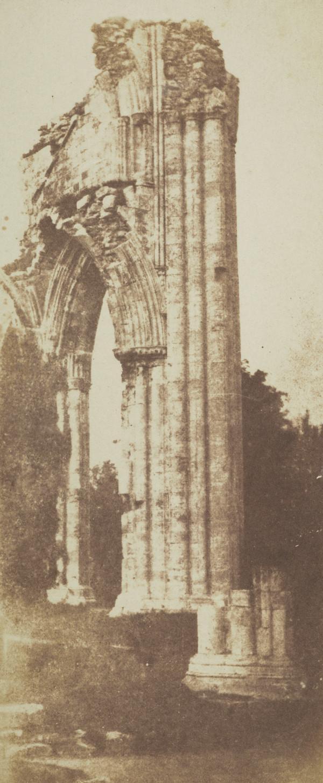 St Marys Abbey, York  [Landscape 27, cut down] (1844)