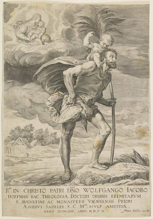 St Christopher (Dated 1605)