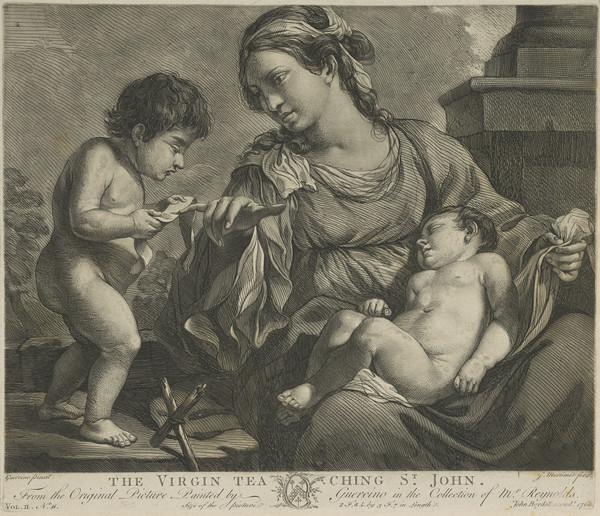 The Virgin Teaching Saint John (Published 1766)