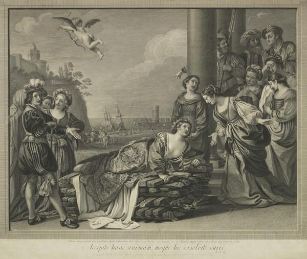 Death of Dido (from Aeneid) (1776)