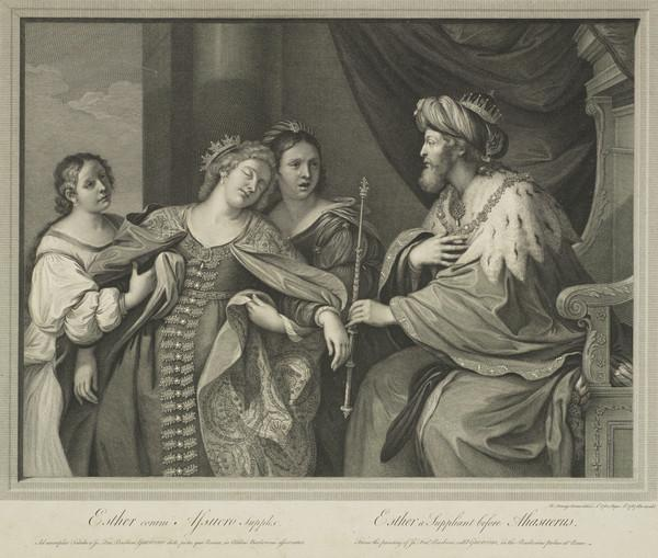 Esther a Suppliant before Ahasuerus (1767)