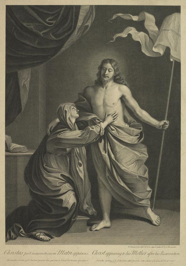 Christ Appearing to his Mother after his Resurrection