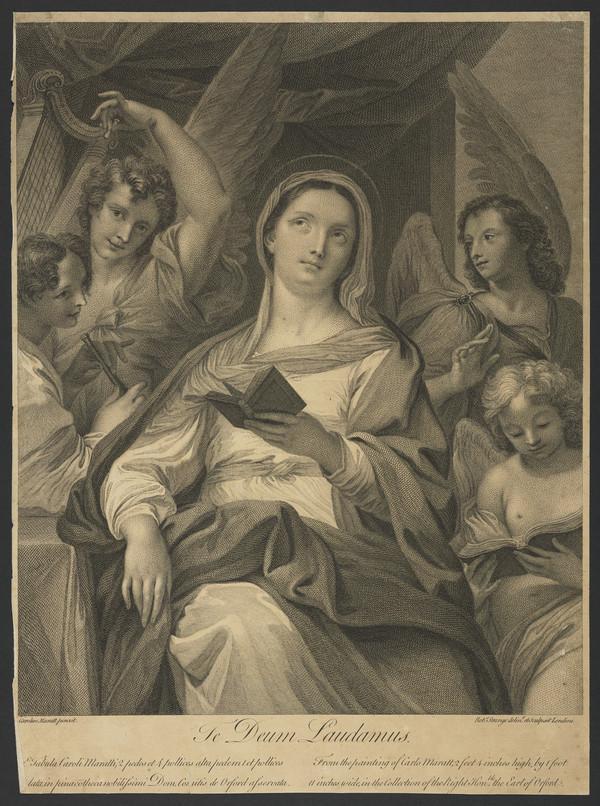 Te Deum Laudamus: The Virgin with Musical Angels