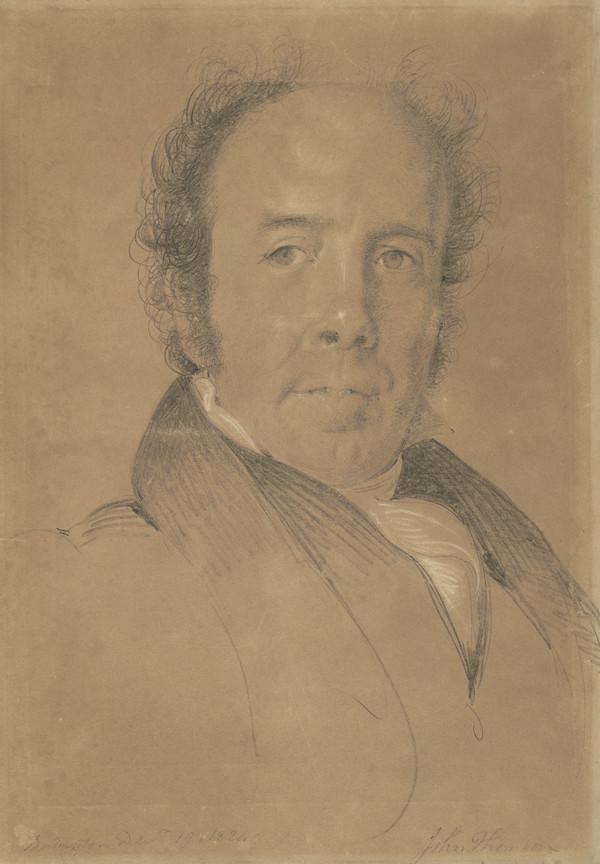 Rev. John Thomson of Duddingston, 1778 - 1840. Landscape painter (Dated 1824)