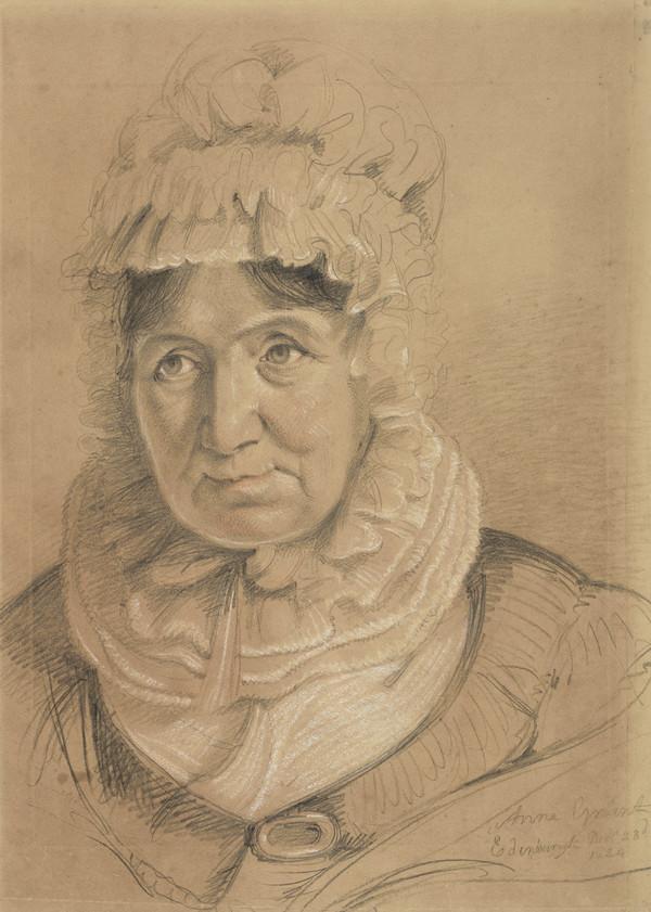 Anne MacVicar, Mrs James Grant of Laggan, 1755 - 1838. Writer (Dated 1824)