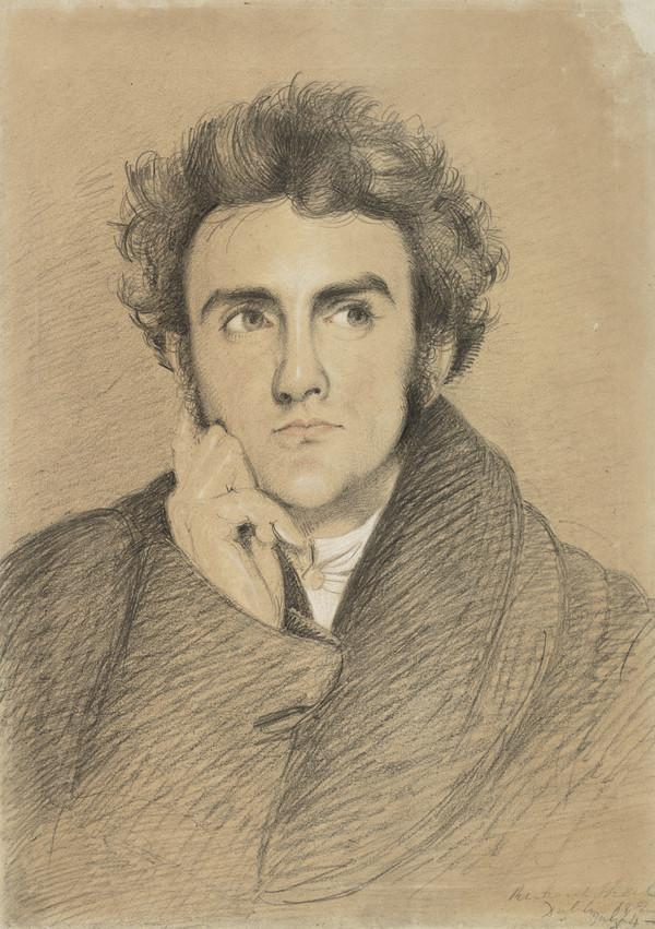 Richard Lalor Sheil, 1791 - 1851. Dramatist and politician (Dated 1824)