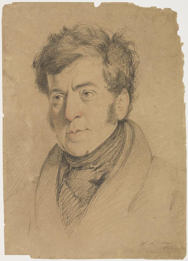 Sir William Allan, 1782 - 1850. Artist (Dated 1824)