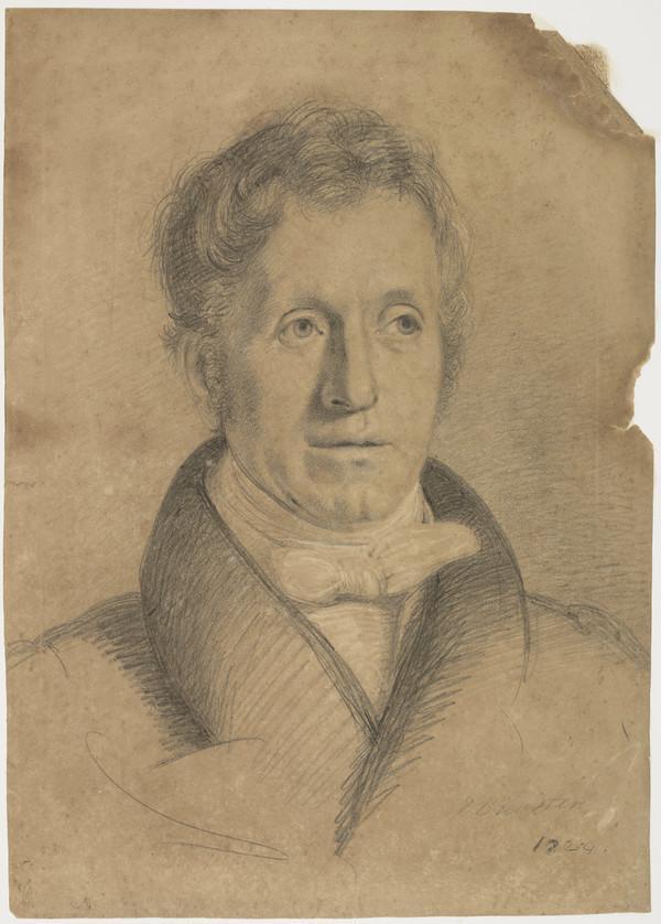 Sir David Brewster, 1781 - 1868. Natural philosopher (1824)