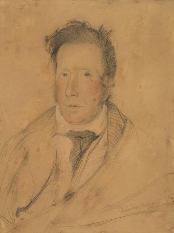 James Hogg, 1770 - 1835. Poet; 'The Ettrick Shepherd' (Dated 1824)