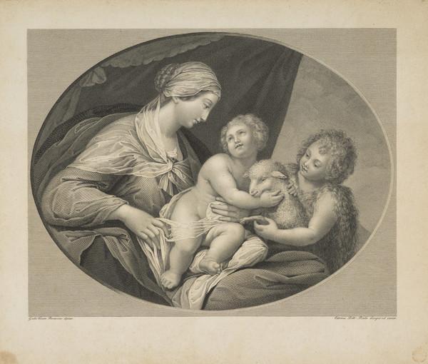 Virgin, Child and Saint John