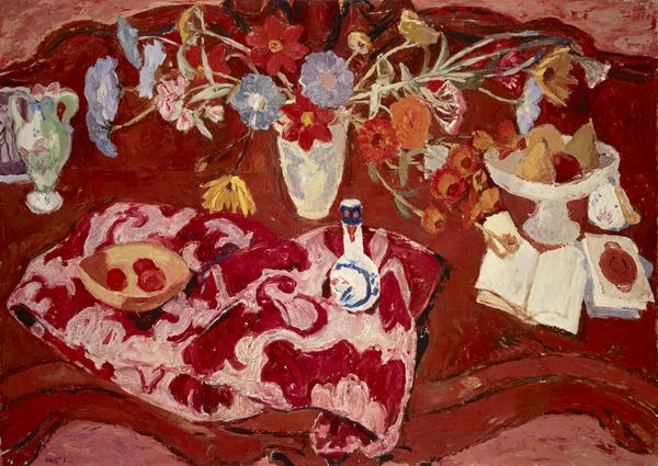 Flowers on a Sideboard (About 1941)