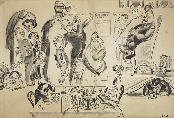 A Literary Capriccio (London in the 1930s)