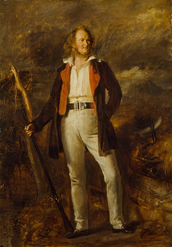 Professor John Wilson (nom de plume, 'Christopher North'), 1785 - 1854. Author and moral philosopher (About 1840)