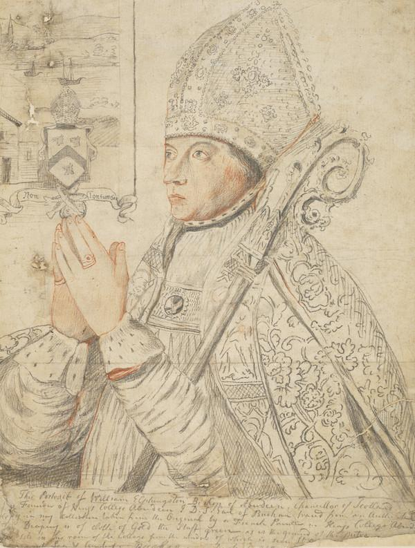 William Elphinstone, 1431 - 1514. Bishop of Aberdeen and founder of King's College
