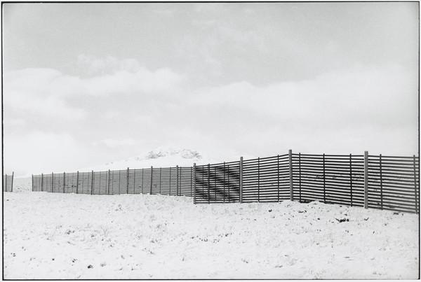 'Snowfence on the Dirrie Moor, Wester Ross' (1981 (printed 1992))