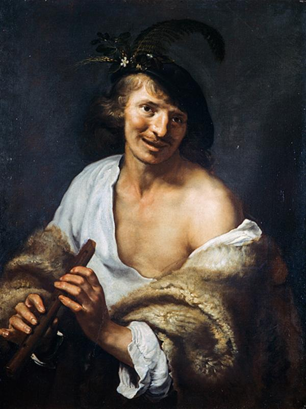 A Shepherd with a Pipe (About 1625 - 1630)