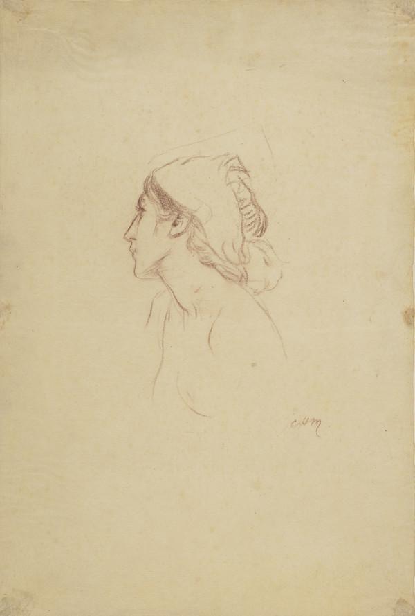 Sketch of a Female Head