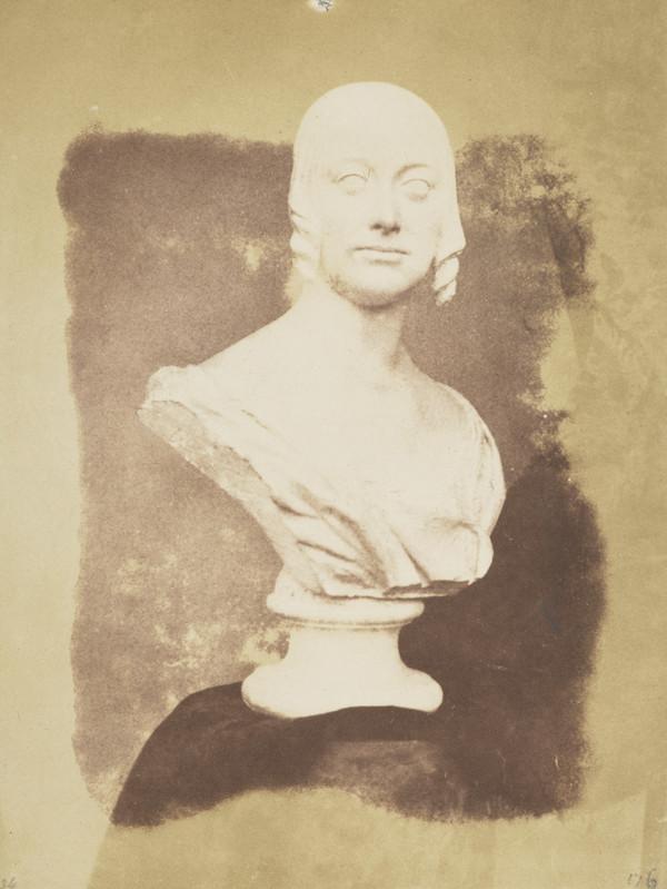 Sculpted bust of Charlotte, Duchess of Buccleuch by Sir Robert John Steell [Art 18]